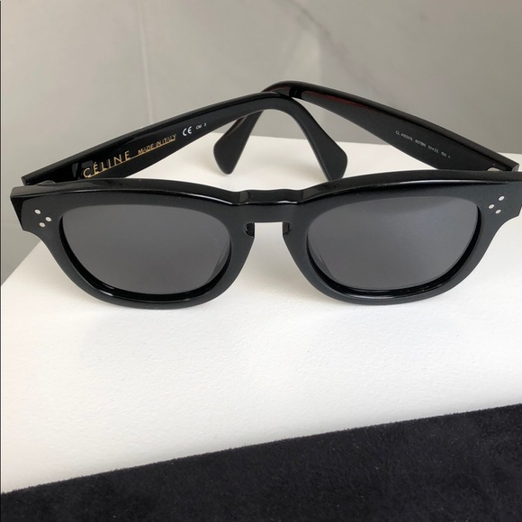 a367a8ff7e9 Celine Accessories - Celine black wayfarer sunglasses.